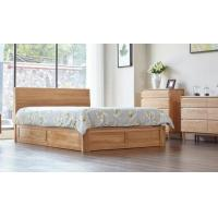 family tall king size wooden bed base solid wood queen bed frame eco friendly 107898874. Black Bedroom Furniture Sets. Home Design Ideas