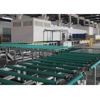 Buy cheap Transfer and Turning Glass Transport Table Line Between Glass Grinding Machine And Furnace product