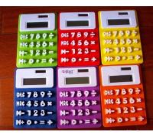 Buy cheap Flexible Calculator, Rubber Calculator, Silicone Calculator product