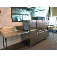 Stainless Steel Rack conveyor dishwasher ECO-M190P2 for Guest House
