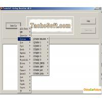 China Tachosoft Airbag Resetter V6.4 Auto Diagnostic Software Cover 450 Airbag ECU models on sale