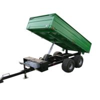 Buy cheap 4wheel  ATV trailer rear tipping trailer 2ton product