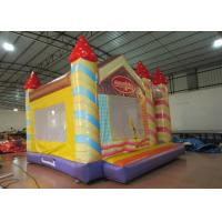 Buy cheap Waterproof Funny Inflatable Jump House 5 X 5m , Kids Bounce House Silk Printing product