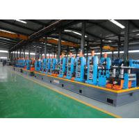 Buy cheap Intelligent Industrial ERW Pipe Mill , Stainless Steel Tube Making Machine product