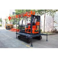 Buy cheap Light Portable Core Drill Rig Crawler-Mounted Engineering Drilling Machine product