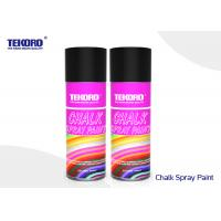 Buy cheap Decorating Chalk Spray Paint Water Based Formulation Type For Outdoor / Indoor Marking product