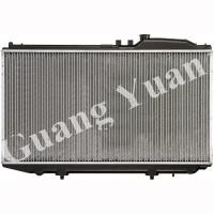 Quality Hard Brazing Toyota Aluminum Radiator , Lexus Ls430 Radiator Oem 16400-50280 Dpi for sale