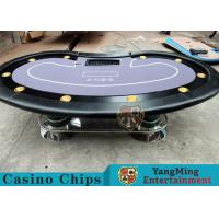 Buy cheap Texas Holdem Casino 10 Person Poker Table For Gambling Games product