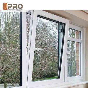 Buy cheap Low - E Glass Tilt And Turn Aluminium Windows With Hardware Energy Saving product
