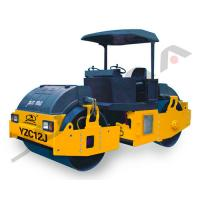 Buy cheap Double Drum Vibratory Roller , Vibratory Oscillatory Roller YZC12/YZDC12 product