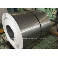 Mirror Finish 201 Stainless Steel Coil / Steel Sheet Coil For Pipe Making