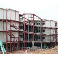 Buy cheap Prefabricated Light  Weight Workshop Steel Structure For 4 Storey Dormitory product
