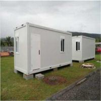 Buy cheap Standard Flat Pack House , Movable Sandwich Panel Prefab Container House product