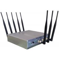 Buy cheap Omni Directional Cell Phone Signal Jammer with UPS battery For Schools , 210*50*185mm product