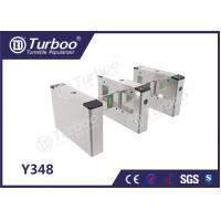 Buy cheap Access Control System Pedestrian Barrier Gate With IC / ID Card Barcode product