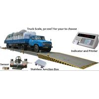 Buy cheap Custom Size Digital Truck Scales , Corrosion Resistant Vehicle Weight Scale product