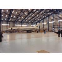 I / H Beams Constructed Metal Aircraft Hangar Buildings Providing Grand Interior Space