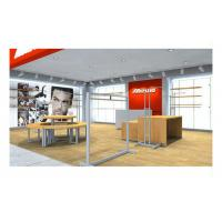 Buy cheap Supermarket Simple Style Shop Display Equipment , Shop Wall Fittings Floor from wholesalers