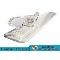 Buy cheap Poker Playing Cards Dedicated Brand Shovel Acrylic Plastic Factory New Custom Shape product
