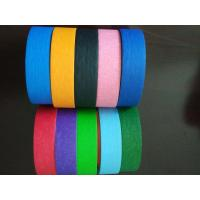 Buy cheap Crepe Paper Colored high quality Masking Tape Automotive Decorative Masking Tape product