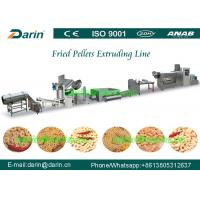 Buy cheap 3D Pellet Snack Extruder Machine , potato chips making machine product