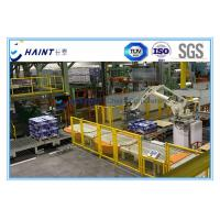 Buy cheap Paper Mill Automatic Palletizer Machine , Robotic Palletizing System For Carton Boxes product