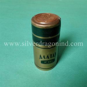 PVC shrinkable capsules for vodka