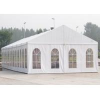 Buy cheap Custom PVC Coated Outdoor Party Tents , Self - Cleaning Wedding Party Tents product