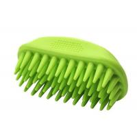 Buy cheap Soft Bristle Durable Cat Grooming Brush , Silicone Dematting Dog Hair Brush product