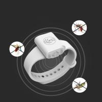 China Smart Kids Cool Ultrasonic Mosquito Repellent Silicone Anti Bracelet watch on sale
