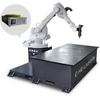 Buy cheap 500W Fiber Laser Welding Machine , Laser Welding Systems With Manipulator product