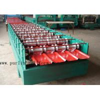 Buy cheap Hydraulic Cutting 5.5KW Roof Rolling Forming Machine , Corrugated Sheet Making Machine product
