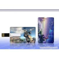 Quality Plastic USB Credit Card Flash Drive / Credit Card USB Storage Device for sale