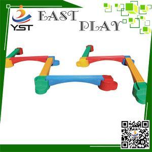 Buy cheap Preschool Kids Playground Equipment 730 * 25 * 42 Cm Long Life Span product