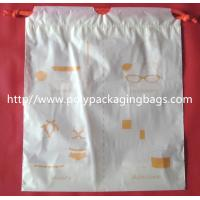 Buy cheap Small Packaging Poly Bags , Drawstring Pouch Bags 2 Colors Gravure Printing product