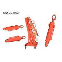 Buy cheap Hoist Mechanism Tie Rod Chromed Hydraulic Lift Cylinder Double Acting product