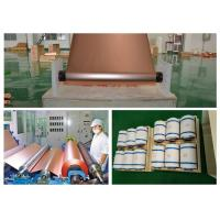 Buy cheap ED Copper Shielding Foil Roll 150kg - 600kg Roll Weight Good Etch Ability product