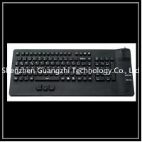 Buy cheap Mechanical Silicone Rubber Keypad Black For Industrial Equipment Washable product