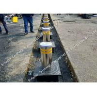 Buy cheap High Visible Electric Rising Bollards Hot Dipped Galvanized Surface Treatment product