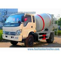 China Rhd Forland 3 Cbm Cement Concrete Mixer Truck Air Braking Euro 2 Emission Standard on sale