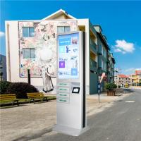 China Outdoor Usb Fast Charging Cell Phone Charging Stations Kiosk Locker 6 Port Coin Operated on sale