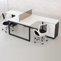Buy cheap Small White Wood Computer Workstation , Neat Home Office Desk Furniture Wood product