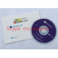 Buy cheap French Language Windows 10 Professional OEM French DVD 64 Bit Version With COA Sticker product