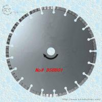 Buy cheap Silver Brazed Diamond Turbo Saw Blade for Cutting Granite and Marble - DSBB01 product