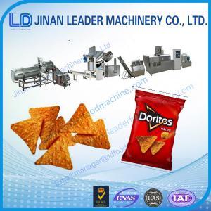 Baixa linha de produção da máquina do processamento dos doritos das microplaquetas de milho do consumo