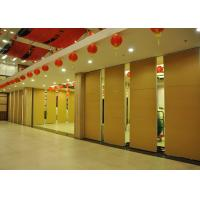 Buy cheap Training Room Sound Deadening Panels ,  Folding Office Partition Door 65mm product