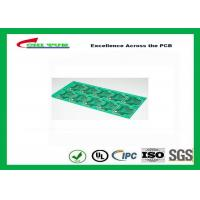 Buy cheap CEM-1 Material Single Sided PCB Panel  No X-out Allowed Lead free HASL PCB product