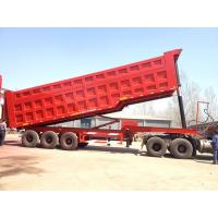 Buy cheap Tandem Tipping Military Industrial Dump Truck For Heavy Duty Transportation product