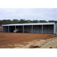 China Durable Modular Steel Garage Building Portable Metal Buildings Earthquake Resistance on sale