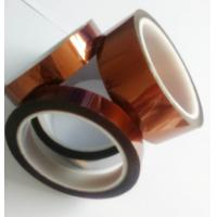 Buy cheap Amber Color Kapton Polyimide Tape Class H Insulation Feature For Electrical Coils product